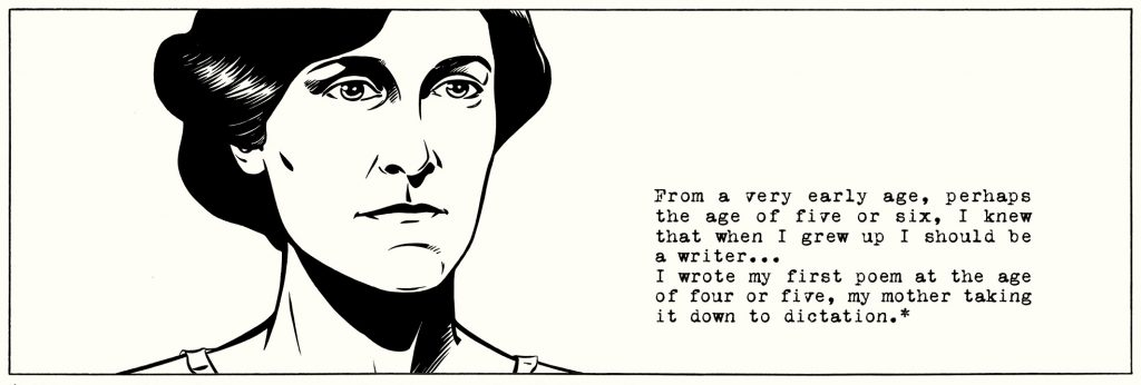 ORWELL p. 9. Use of Orwell's own words incorporated into the text.